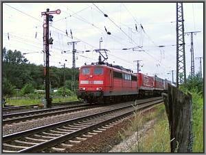 151 023 in Gremberg Nord